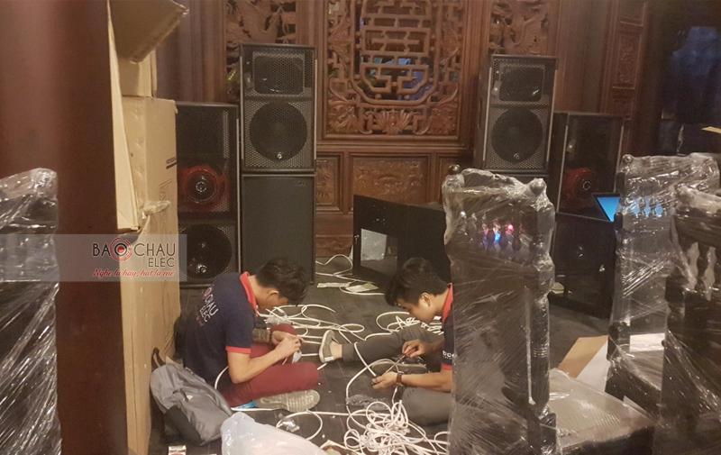 Dàn âm thanh nhạc sống tại nhà hàng ở Bình Dương - 02