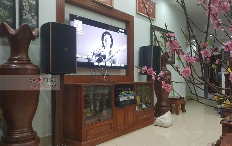 Lắp đặt dàn karaoke gia đình tại TP HCM -02