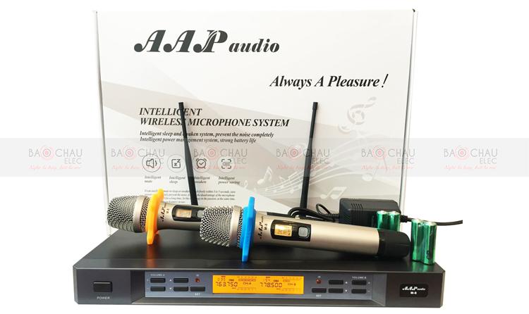 Micro không dây AAP M8 và toàn bộ linh phụ kiện