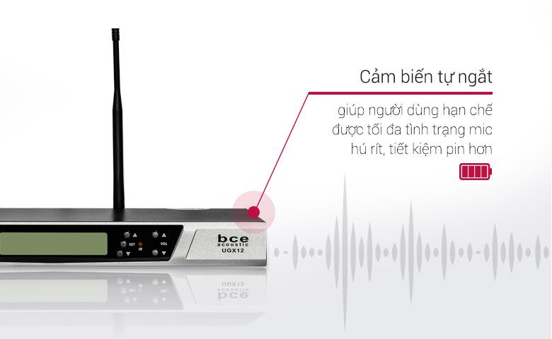 Micro không dây BCE UGX12 thu phát sóng mạnh