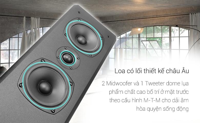 Loa Paramax F2800 new cho ra đường tiếng riêng biệt