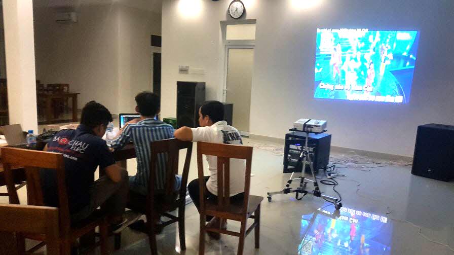 Lắp đặt dàn karaoke cao cấp cho khu nghỉ dưỡng Ba Son - tỉnh Bà Rịa Vũng Tàu