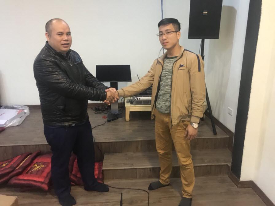 Lắp đặt dàn karaoke gia đình cao cấp tại Thái Nguyên