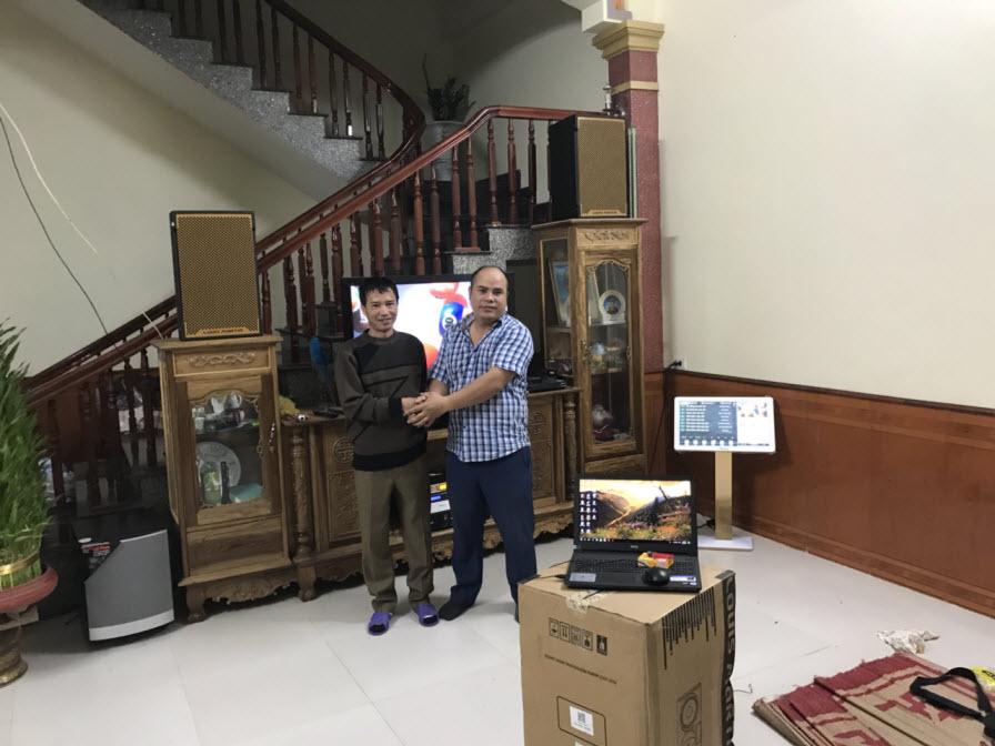 Lắp đặt dàn karaoke gia đình cao cấp tại Việt Yên, Bắc Giang