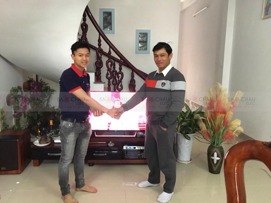 Dàn karaoke gia đình hay giá tốt cho gia đình anh Mười tại Sơn Trà Đà Nẵng