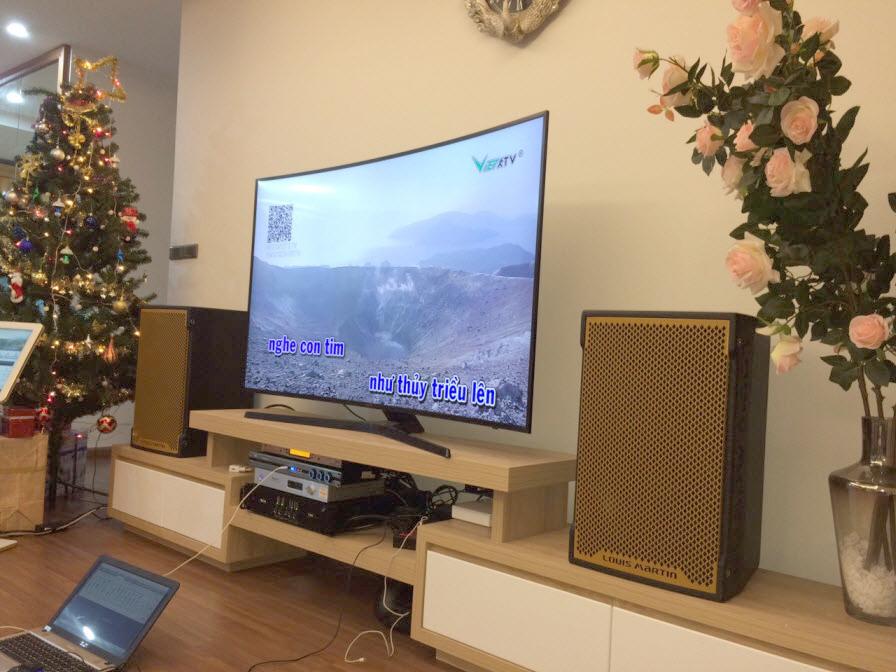 Tham khảo bộ dàn karaoke cao cấp, được lắp đặt tại Hồ Tùng Mậu Hà Nội