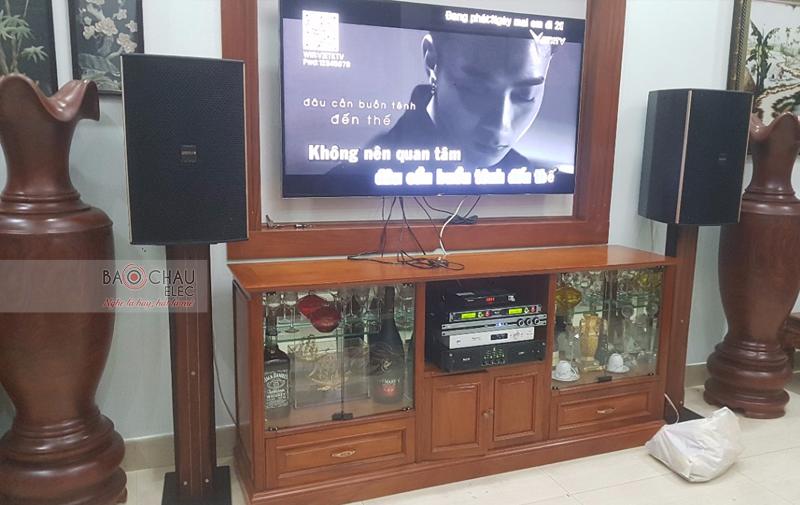 Lắp đặt dàn karaoke gia đình tại TP HCM -03