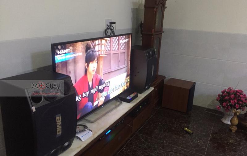 Lắp đặt dàn karoake gia đình anh Linh - Cẩm Lệ ĐN - 02