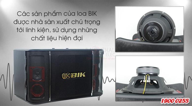 Loa BIK BJ S768 trang bị linh kiện cao cấp