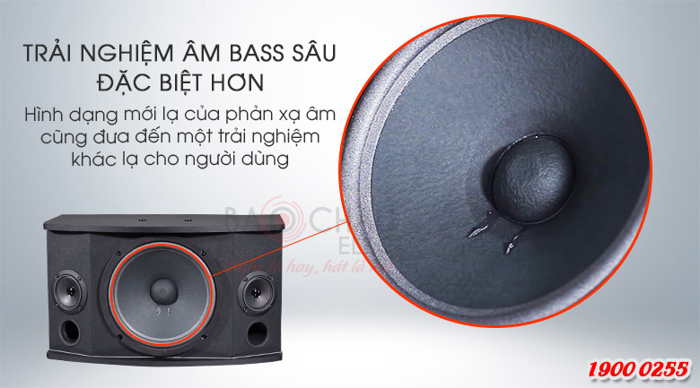 Loa karaoke BMB CSN-300(SE) với trải nghiệm âm bass đặc biệt