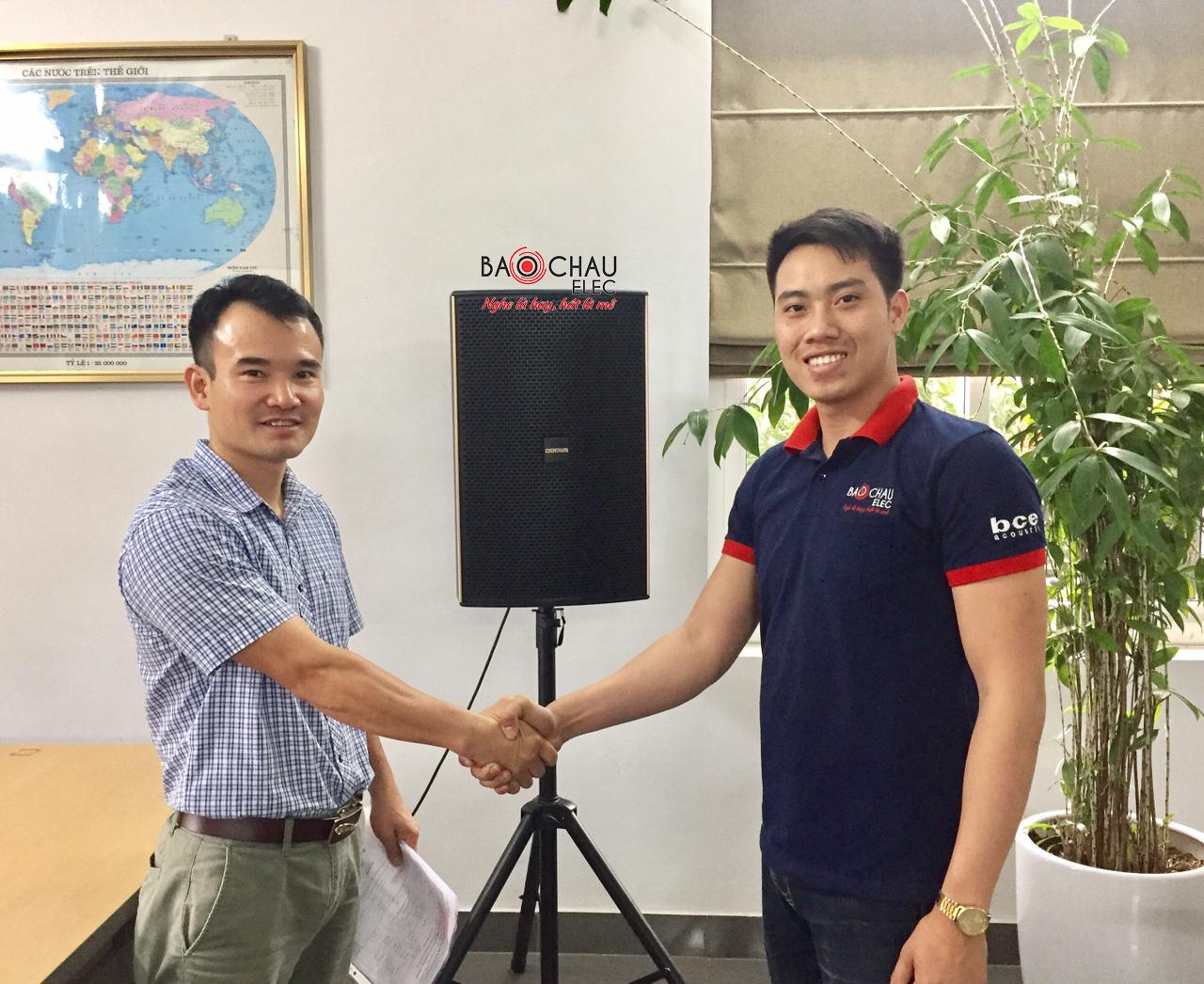 Lắp đặt dàn âm thanh hội trường cho Công Ty Việt Phương tại Đồng Văn Hà Nam