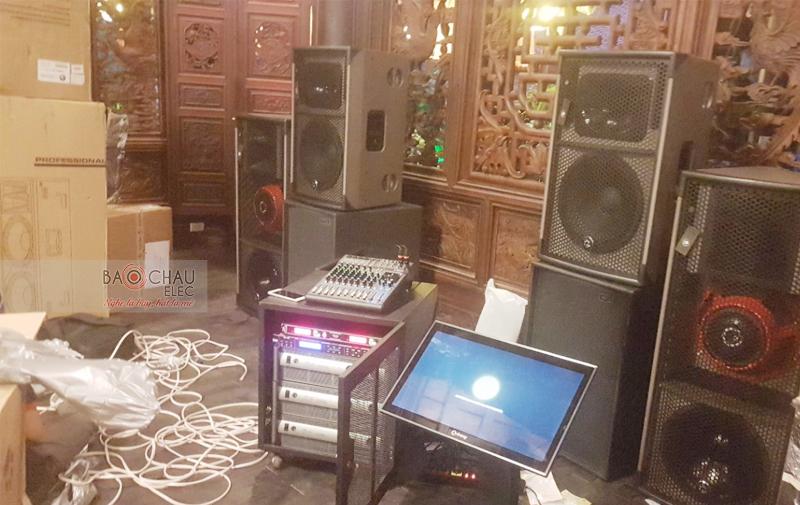 Dàn âm thanh nhạc sống tại nhà hàng ở Bình Dương - 09