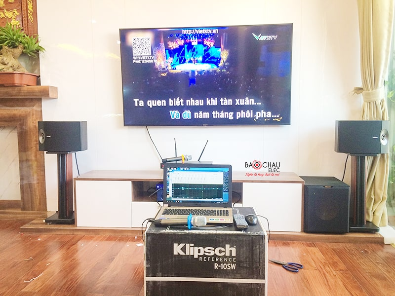 Dàn karaoke gia đình sử dụng loa Bose 301 seri V
