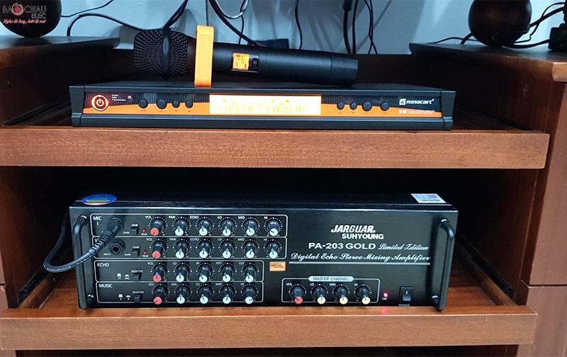 Micro không dây Relacart X-10 hát cực hay, chống hú
