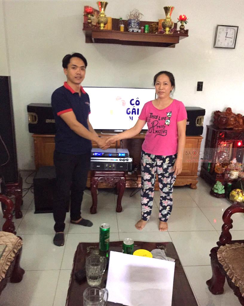 Lắp đặt dàn karaoke gia đình cao cấp, hát cực hay tại Huyện Hóc Môn