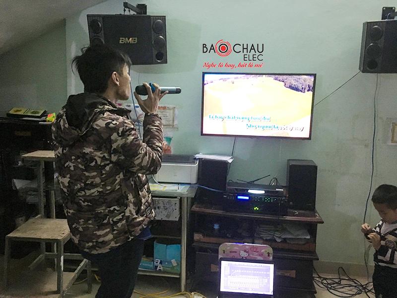 dan karaoke gia dinh hay tai me linh h9