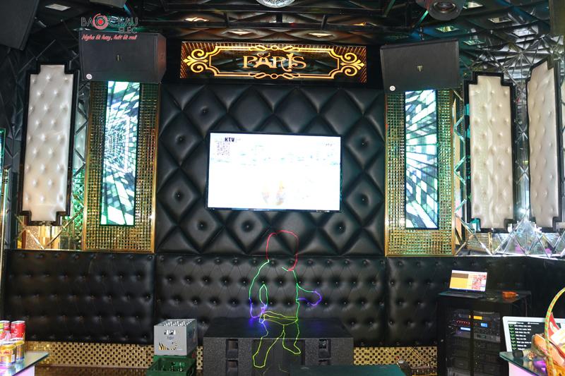 Karaoke chuyen nghiep cua quan karaoke Paris h20
