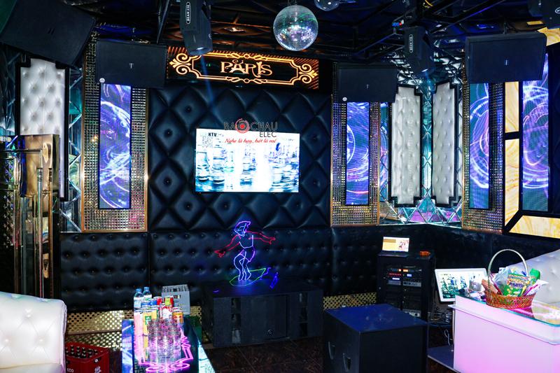 Karaoke chuyen nghiep cua quan karaoke Paris h29