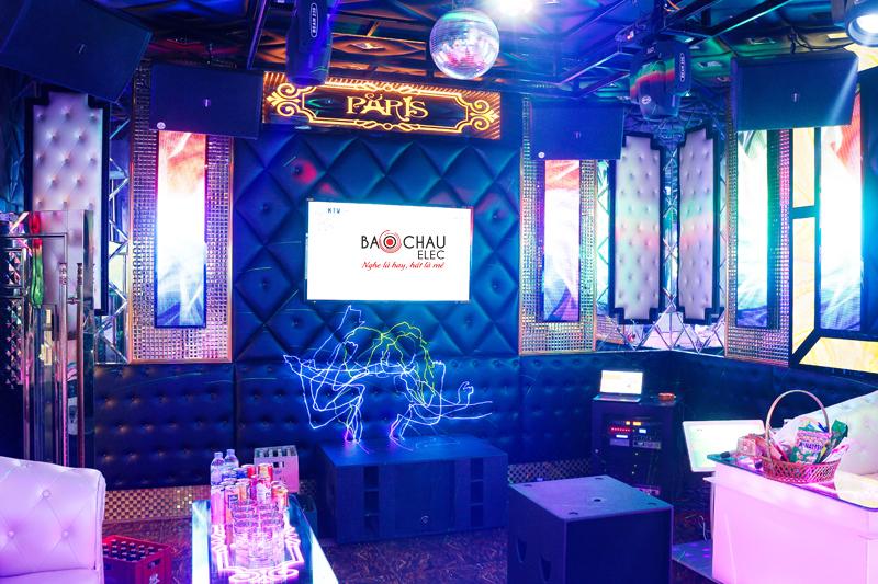 Karaoke chuyen nghiep cua quan karaoke Paris h30