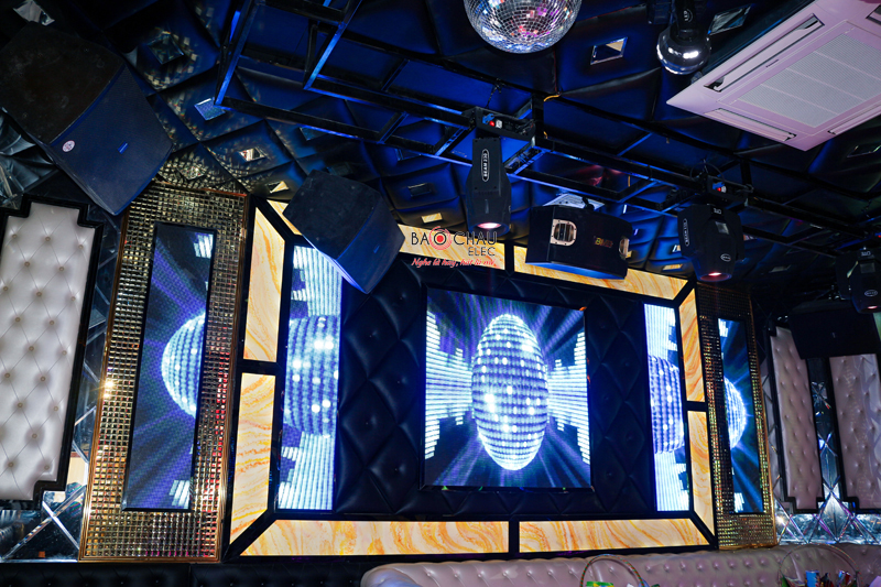 Phòng hát karaoke phong cách PUB