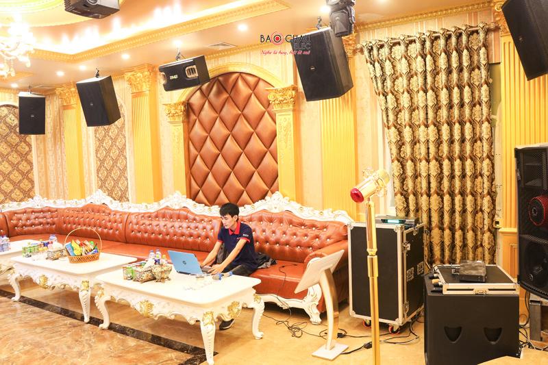 Sở hữu các dàn karaoke cao cấp cực chất, giá cực tốt