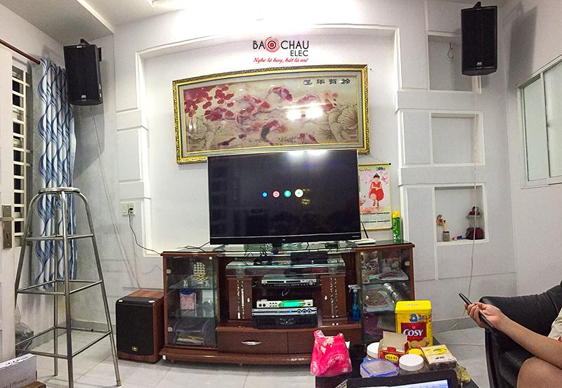 Bảo Châu elec HCM lắp đặt dàn karaoke gia đình cao cấp tại Bình Tân