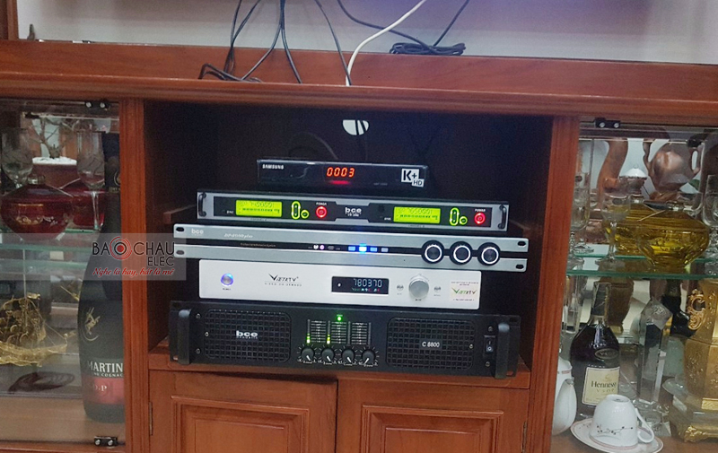 Lắp đặt dàn karaoke gia đình tại TP HCM -07