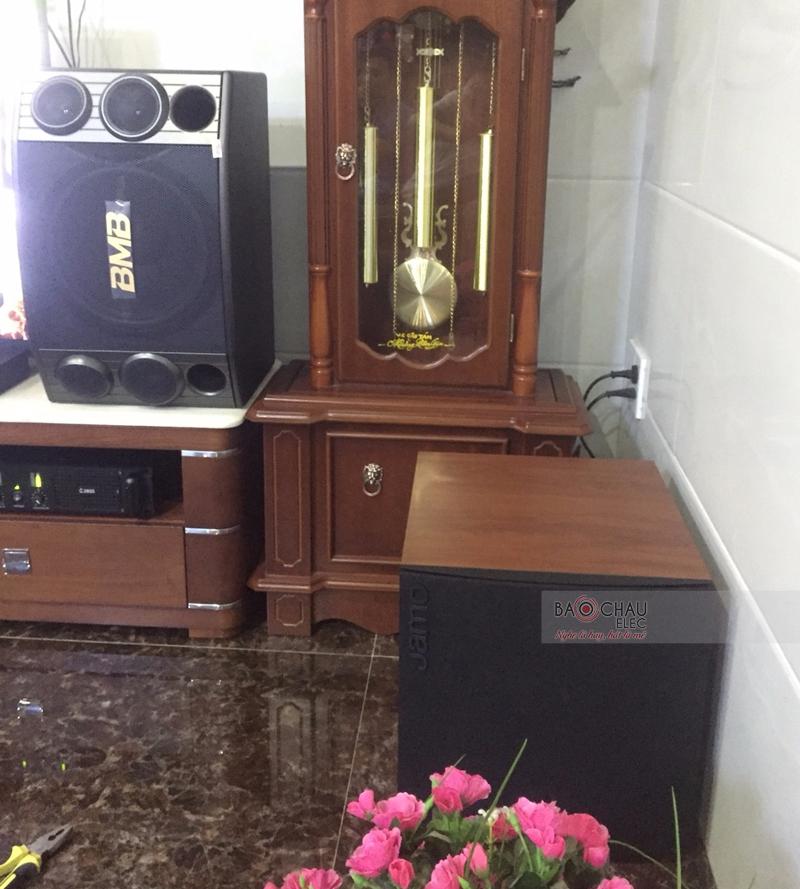 Lắp đặt dàn karoake gia đình anh Linh - Cẩm Lệ ĐN - 05