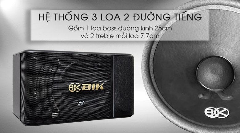 Loa BIK BJ S886 là hệ thống 3 loa cho ra 2 đường tiếng