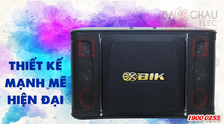 Loa karaoke BIK BJ-S968 với thiết kế hiện đại, mạnh mẽ