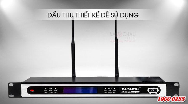 Micro không dây Paramax pro 8000 new lọc âm tốt
