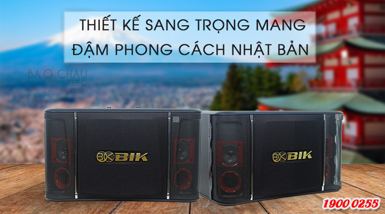 Loa BIK BJ S768 thiếu kế sang trọng