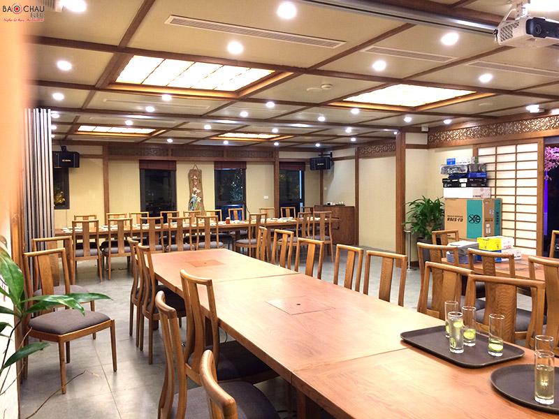 Bộ dàn âm thanh karaoke và nghe nhạc cho nhà hàng Nhật Bản tại Hà Nội