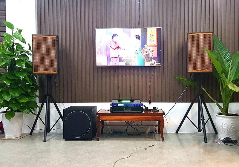 Dàn karaoke cao cấp được Bảo Châu Elec tư vấn và lắp đặt cho khách hàng tại Đà Nẵng