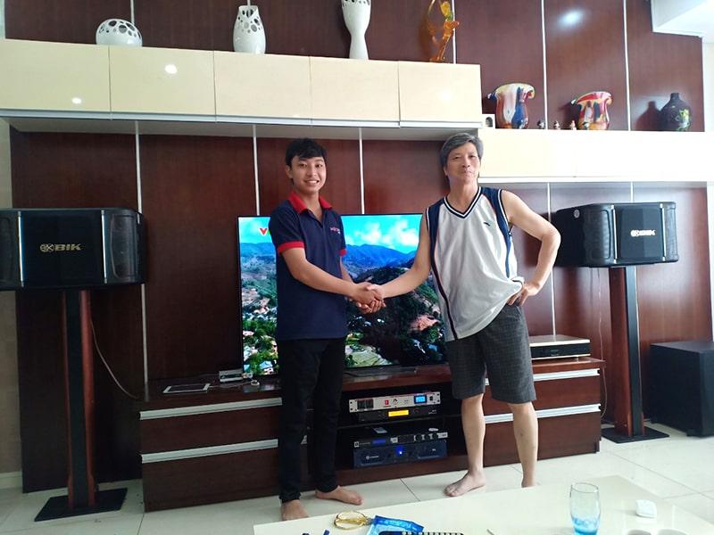 Dàn karaoke gia đình sử dụng loa BIK BJ-S968