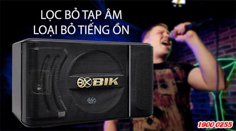 Loa BIK BJ S886 trang bị bộ lọc âm tiên tiến