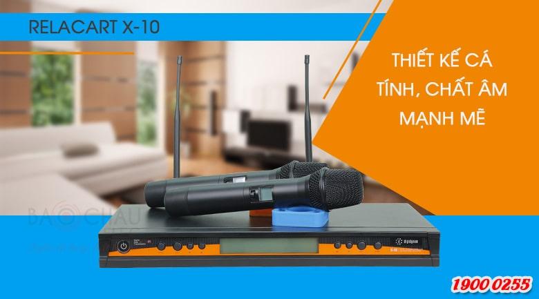 Micro không dây Relacart X-10 chính hãng giá rẻ