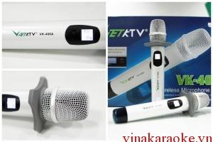 Micro không dây VietKTV VK-406A