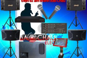 Bộ dàn karaoke kinh chuyên nghiệp số 04